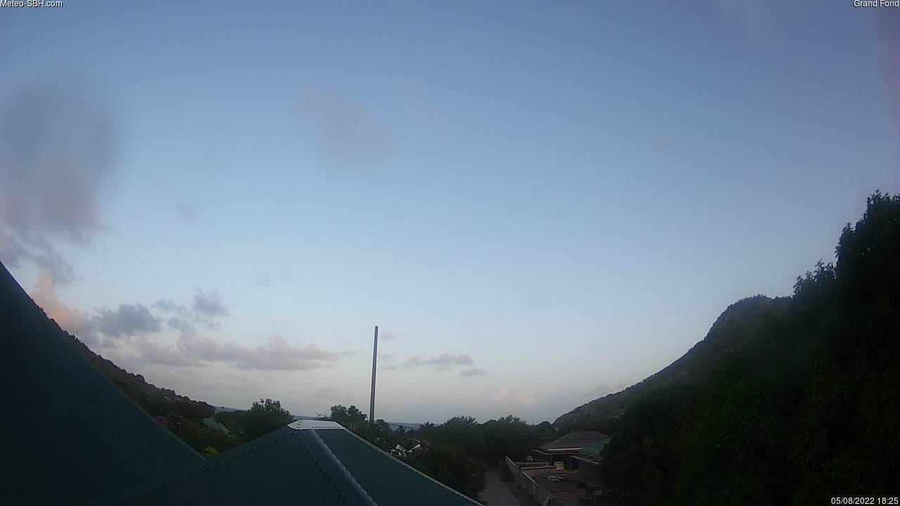 St Barth - Meteo-sbh.com - Devet - Webcam